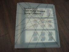 Set COMPLETO 63 FOGLI DI FRANCOBOLLI 2012 Olympic + Paralimpico GIOCO Medaglia d'Oro Vincitore FV £ 174