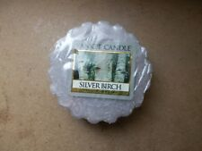 Yankee Candle Usa Silver Birch Wax Tart...