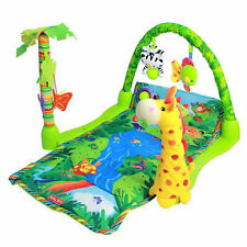 Baby Gift Rainforest Musical Baby Activity Play Gym Toy Soft Mat