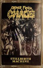 ORDER FROM CHAOS - STILLBIRTH MACHINE - SEALED - Original Wild Rags - RARE OOP