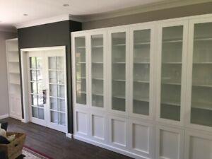 """Canberra 3.0"" Integrated Wall Unit Bookshelf Living Room Furniture"