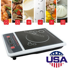 Portable Digital Electric Induction Cooktop Countertop Burner Cooker 2000W【USA】