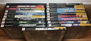 Lot of 19 PlayStation 2 Games No Duplicates