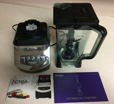 Ninja Professional NJ600 1000 Watts 72 oz. 9 Cups Blender Silver/Black USED ONCE