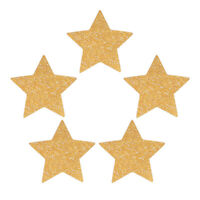 100x Star Confetti Glitter Hard Paper for Baby Shower Wedding Party Decor
