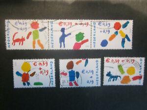 2002 Netherlands complete set Child - used