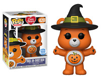Funko Pop! Care Bears #240 Trick-Or-Sweet Bear Funko Shop Exclusive NIB RARE HTF