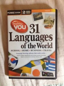31 Languages Of The World PCCDROM For XP Or MAC