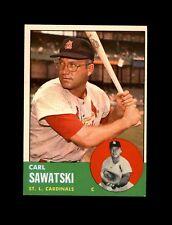 1963 Topps Baseball #267 Carl Sawatski (Cardinals) NM #AAB123