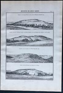 1866 - Vistas Del Monte Auxois - Jules César