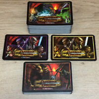 Full Deck Of Cards Dungeons & Dragons Boardgame, Parker 2003
