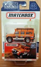 MATCHBOX 2018 65th Anniversary GLOBE TRAVELERS LAND ROVER DEFENDER 110 (A+/*A+)