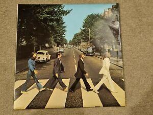 The Beatles Abbey Road First Press Misaligned Apple Vinyl LP Rare Version VG++