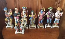New listing Lot Of 8 Vintage McCormick Rum Pirate Half Pint Decanters