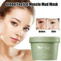 Women Makeup Green Tea Ice Cooling Cleansing Moisturizing Mask 100g Q5Z0