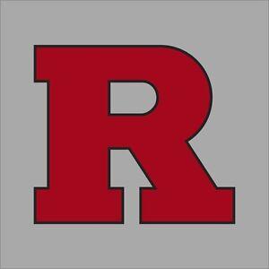 Rutgers Scarlet Knights NCAA College Vinyl Sticker Decal Car Window Wall