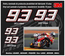 Stickers-adhesivos-pegatinas-adesivi-aufkleber-autocollants ,93 Marc Marquez