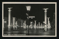 1937 Germany 3rd Reich Real Picture Postcard Cover Berlin Boulevard mint RPPC
