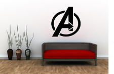 Avengers Superhero Adult kids Home Wall Decal Sticker Film Marvel Room SU22
