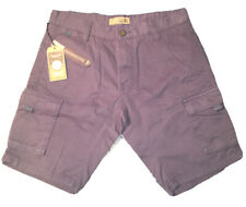 C&S (cotton & Silk) Indigo Color  Cargo Light Weight Shorts Sz.32 (48 Ero)NWT