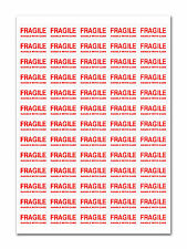 3250 - FRAGILE - Handle with care Labels Small Stickers