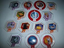HUGE Lot of 14 DISNEY INFINITY Power Discs Merlin Zurg Stitch Bolt Felix Carl