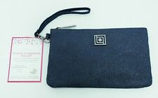 Liz Claiborne Phone Charging Wallet Midnight Glitter for iPhone/Android