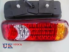 2x Rear Tail Lights Lamp Caravan Truck Trailer Bus Van Chassis Camper 12V 46 LED