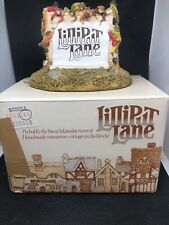 Vintage Lilliput Lane Sign 1986 scroll on the wall Collectible home décor