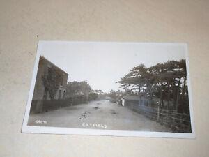 EARLY 1923 REAL PHOTO PC - CATFIELD, NORFOLK BROADS, NORFOLK