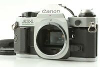 [Near Mint] Canon AE-1 Program Silver 35mm SLR Film Camera From Japan #1209