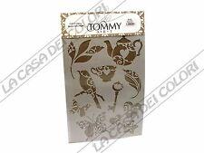 TOMMY ART - STENCIL  21x30cm - SP320  - OGGETTI SHABBY