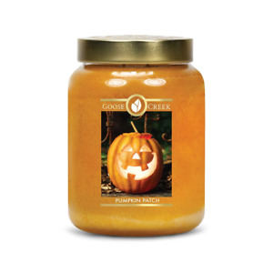 ☆☆PUMPKIN PATCH☆☆LARGE GOOSE CREEK CANDLE JAR 24 OZ.☆☆FREE EXPEDITED SHIPPING