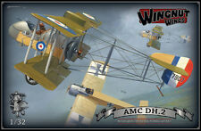OOP Wingnut Wings 1/32 AMC DH.2  High Quality Scale Model Kitset #32028