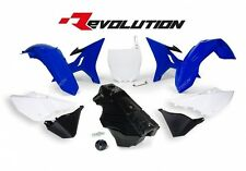 Yamaha Wr250 2016 2017 Blue Revolution Plastic Kit Fuel Tank