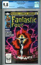 Fantastic Four #244 CGC 9.8 NM/MT WP 7/82 1982 Marvel Comics Frankie Raye Nova 1