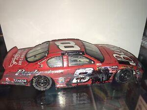 CUSTOM Dale Earnhardt Jr Fantasy Crash Raced Version NASCAR Diecast 1:24 Action