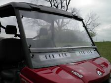 Can Am Defender 2-Pc Vented Windshield-BETTER-Free Shipping