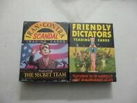 Eclipse Trading Card Set Lot Politics Iran Contra Scandal Friendly Dictators '88