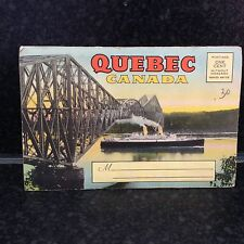 475. Quebec  Canada - colour Postcard Set