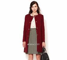 MARNI Red/Black Wool Blend coat UK8-10 IT40, rrp1195GBP New