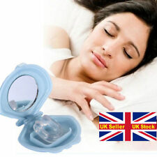 SNORE RELIEF STOP SNORING ANTI SNORE Bruxism Silicone SLEEP AID DEVICE nose clip