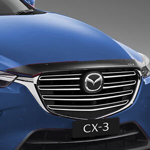 New Genuine Mazda CX-3 DK Bonnet Protector Smoked Tinted Accessory Part DK12ACBP