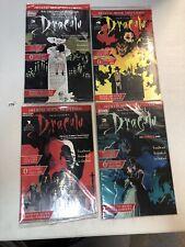 Bram Stoker's Dracula (1994) #1-4 (VF/casi como nuevo) completo conjunto de arte Topps Mike Mignola