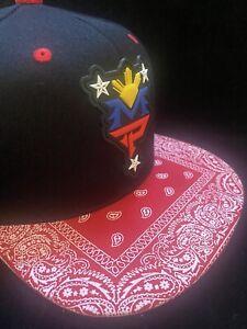 Manny Pacquiao MP Philippines Filipino hat Bandana Traditional brim SNAPBack 3