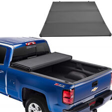 JDMSPEED Hard Folding Tonneau Cover For 14-19 Chevy Silverado GMC Sierra 5.8 FT