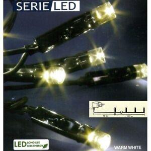 LED Lichterkette 12m 96er warmweiß / Schwarz Best Season außen 476-56 xmas