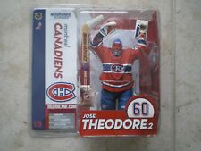 McFarlane NHL Series 10 Jose Theodore Canadiens, Habs action figure Red Jersey