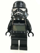 """LEGO STAR WARS ALARM CLOCK SHADOW TROOPER LARGE 9"""" FIGURE EXTREMELY RARE"""