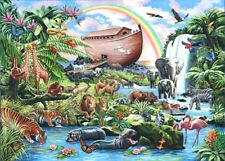 The House Of Puzzles - 500 BIG PIECE JIGSAW PUZZLE - Noah's Ark Big Pieces